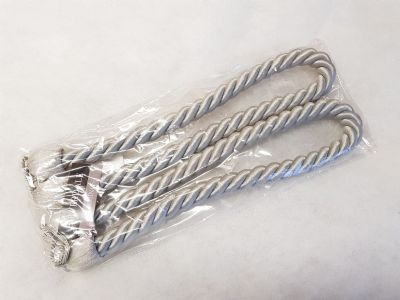 2 Medium Rope Curtain Tiebacks 70cm Long